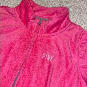 VIctoria's Secret Pink Zip Up Fleece